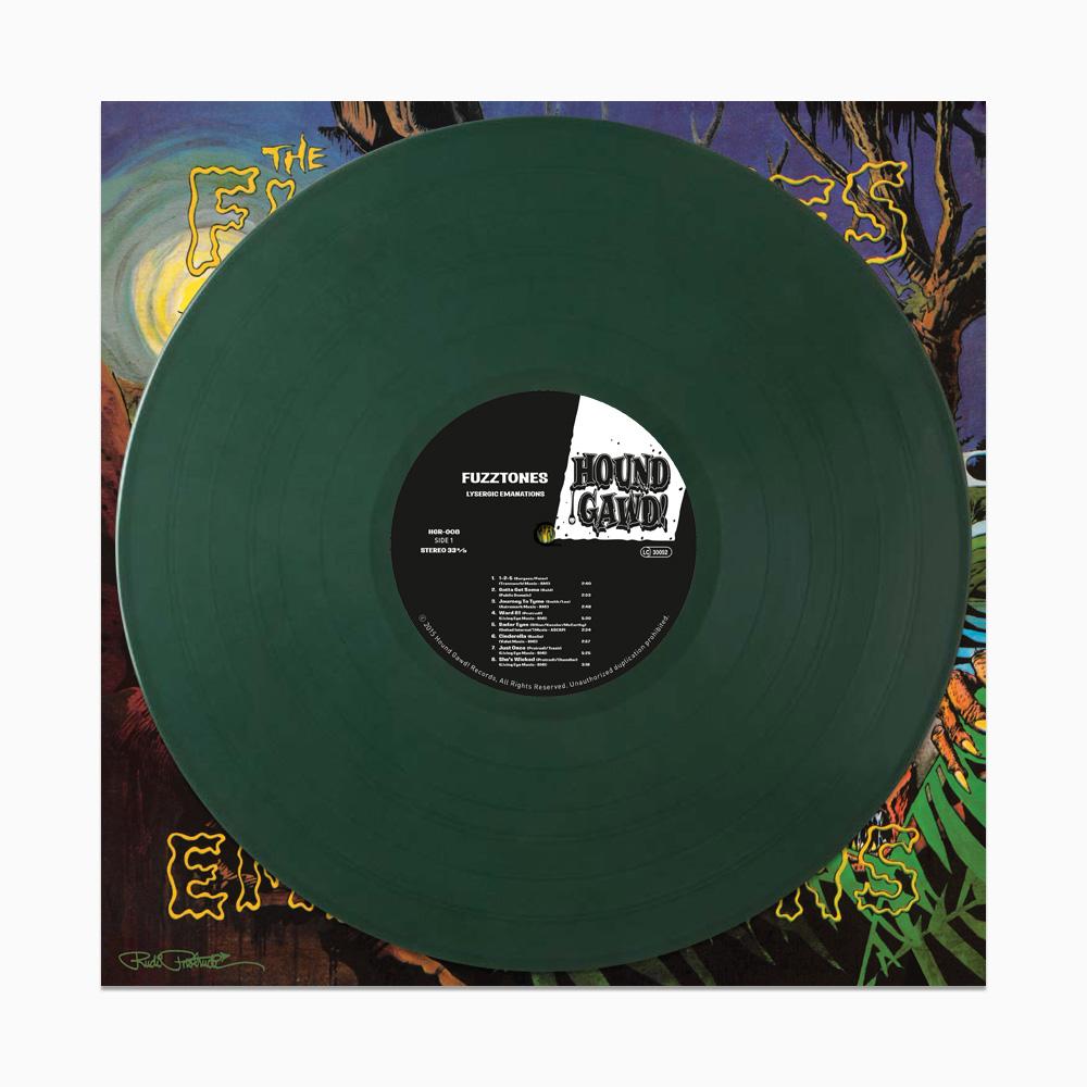 Fuzztones - Lysergic Emanations LP - Ltd. Edition