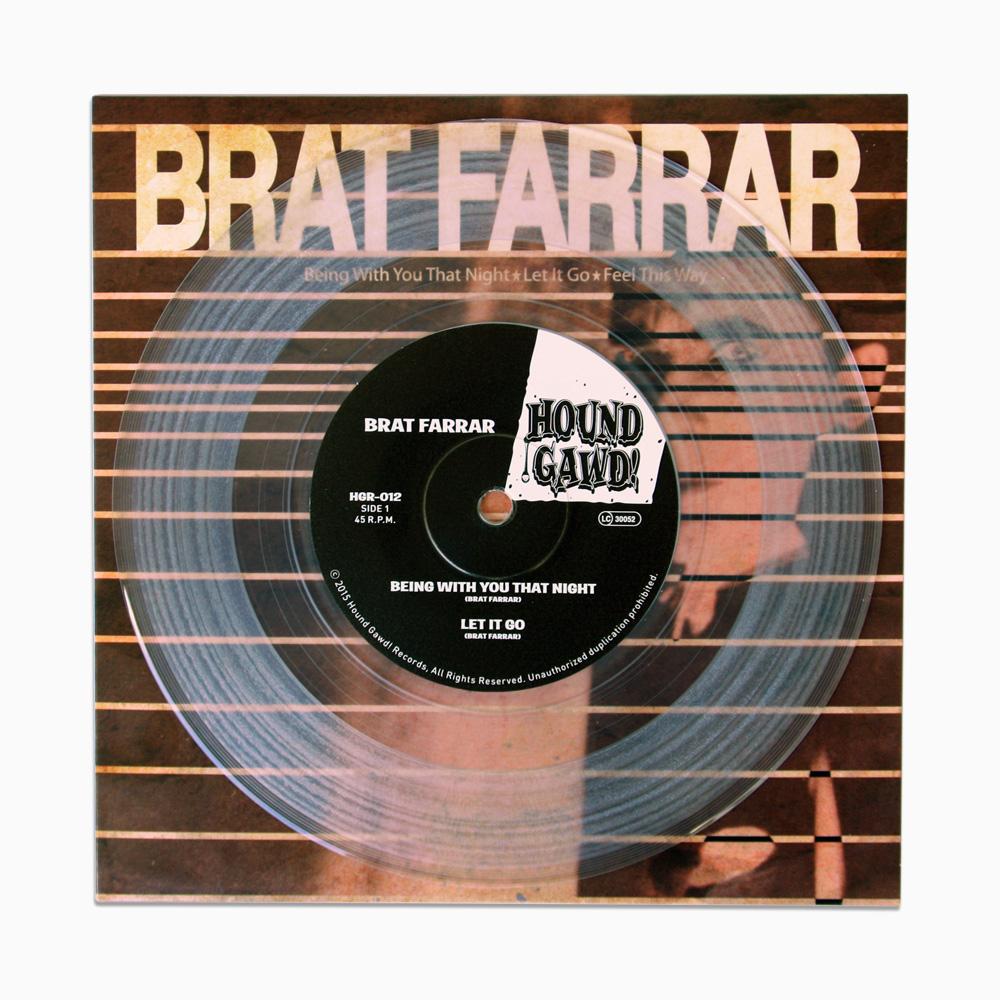 "Brat Farrar - Being With You That Night 7"" - Ltd. Edition"