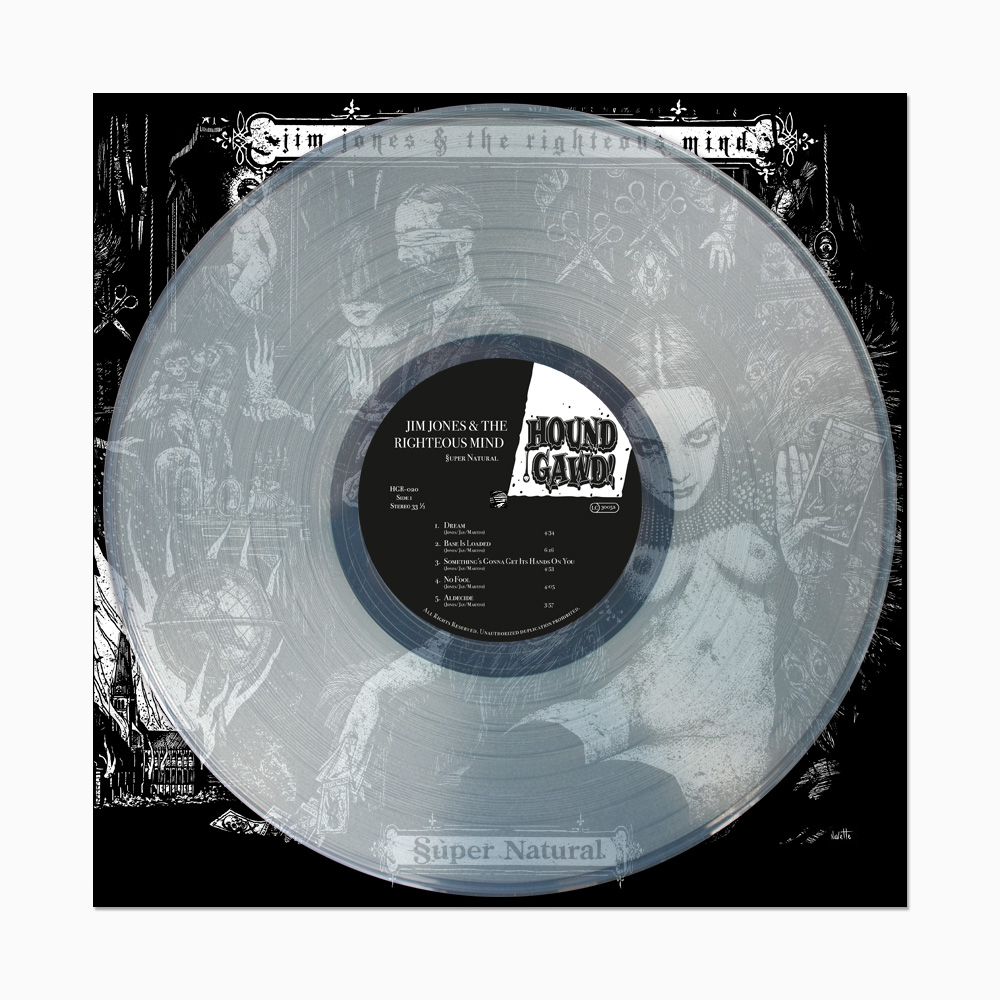 Jim Jones & The Righteous Mind - §uper Natural - ltd. Edition clear