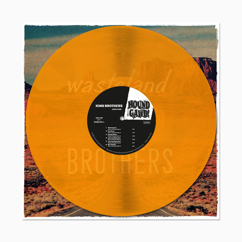King Brothers - Wasteland - ltd. Edition