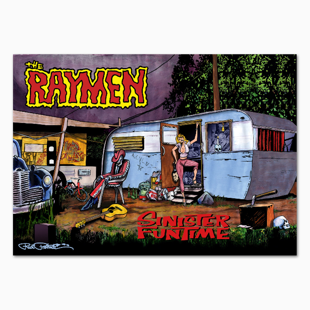 The Raymen – Sinister Funtime Poster