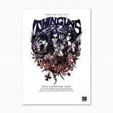 Twin Guns Tour Poster