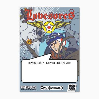 Lovesores - Focke-Wulf vs Spitfire Tour Poster